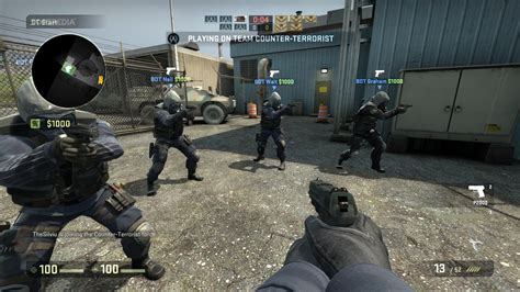 linux cs go gameplay counter strike global offensive officially lands on linux