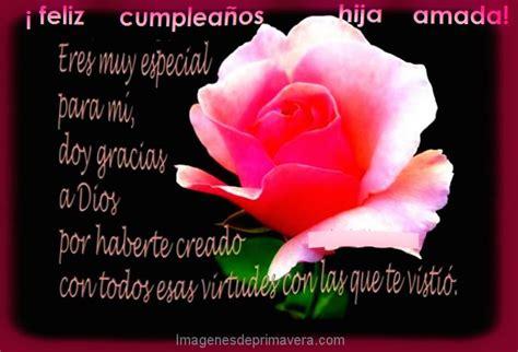 imágenes de feliz cumpleaños hermana que dios te bendiga recibiendo flores para tarjetas de cumplea 241 os feliz hija
