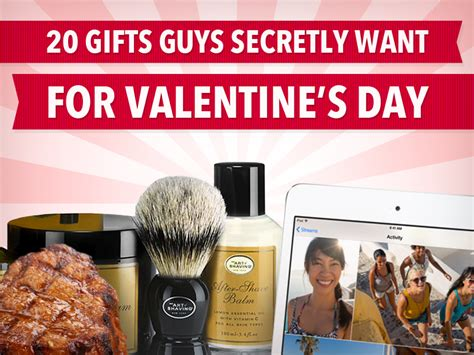 valentines day ideas for guys 20 gifts guys secretly want for s day business