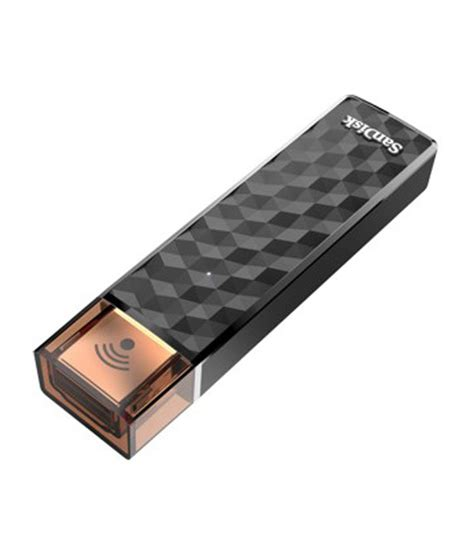 Sandisk Wireless Stick sandisk connect wireless stick 128 gb utility pendrive buy sandisk connect wireless stick 128