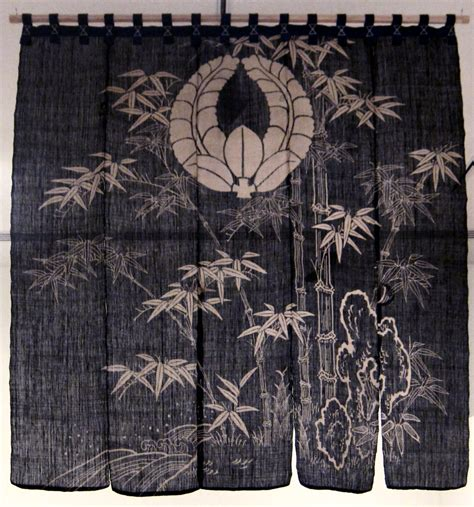 Noren Japanese Door Curtain Daisymarmalade