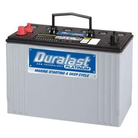 Duralast/Platinum marine AGM battery AGM 31M Read 1