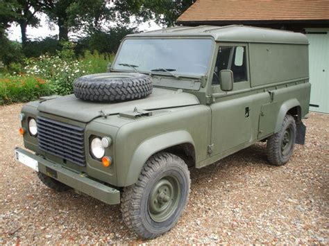 1986 land rover 1986 land rover 110 lhd land rovers milweb classifieds