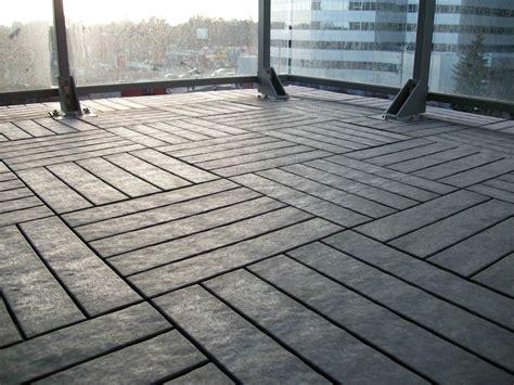veranda floor tiles quot after quot of our charcoal grey outdoor floor balcony