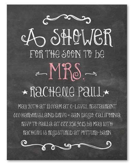 chalkboard style bridal shower invitations chalk bridal shower invitations on recycled paper happy board by foreverfiances weddings