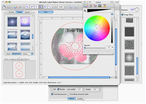 dvd cover template mac iwinsoft cd dvd label maker for mac fileforum