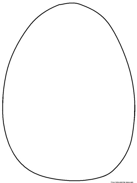 blank egg coloring page free blank easter egg coloring pages