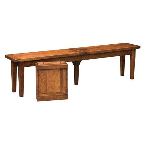 jordan bench jacksonville extendabench shipshewana furniture co
