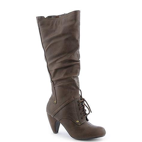 shiekh phil s womens high heel mid calf boot
