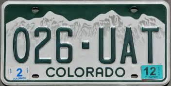 Vanity Plates Colorado colorado 2