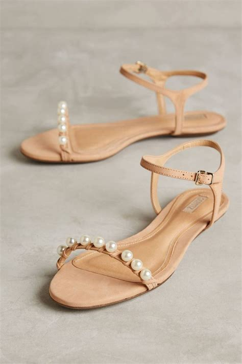 25  best ideas about Pearl Sandals on Pinterest   Bridal
