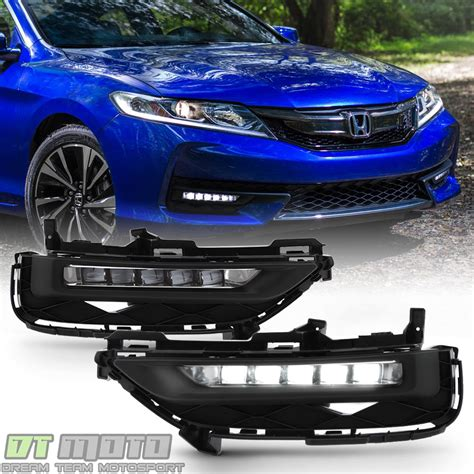 2017 honda accord fog lights 2016 2017 honda accord 9 5 2dr coupe 0em style led