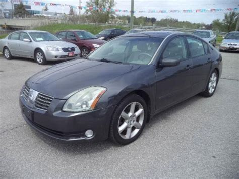 grey nissan maxima 2005 nissan maxima se leather sunroof loaded gray for 4950