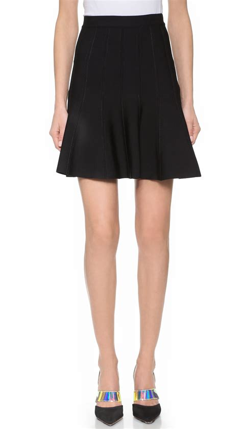 A289 Herve Ledger Skirt lyst herv 233 l 233 ger sabine skirt in black