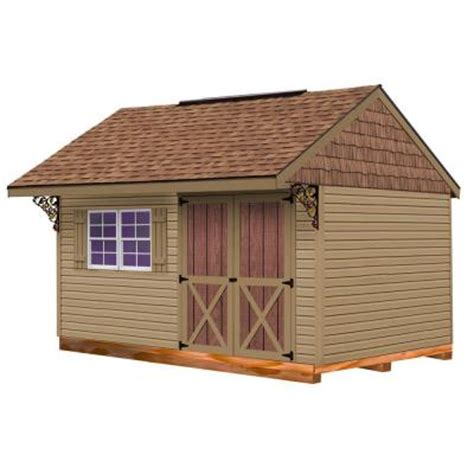 Vinyl Shed Kits by Best Barns Clarion 10 Ft X 14 Ft Prepped For Vinyl