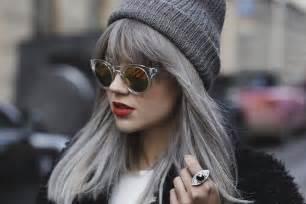 cheveux gris mode 2016 une tendance qui vient avec un prix
