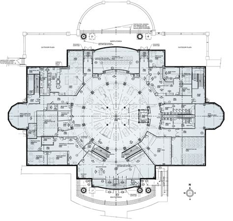 the floor plan of a new building is shown floor plans open the doors completing union s new