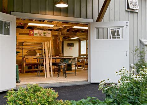 workshop doors farmhouse garage and shed portland