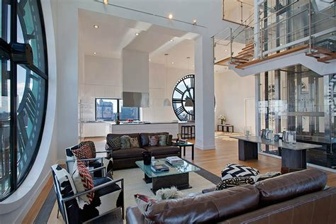 Clock Tower Penthouse Apartment In Brooklyn New York