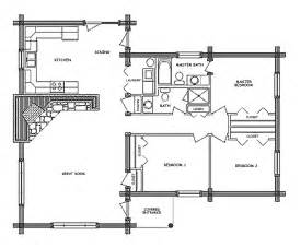 Free Log Home Floor Plans by Log Cabins Floor Plans Free