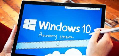 Windows 10 Anniversary Update microsoft begins rollout of windows 10 anniversary update for pcs