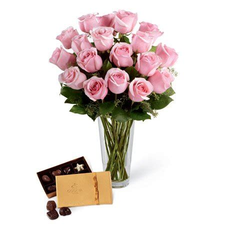 Roses Same Day Delivery by Pink Roses Godiva 174 Chocolate Box At Send Flowers