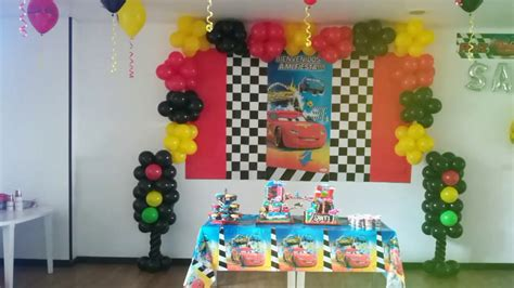 decoracion fiestas infantiles youtube decoraci 243 n cars fiestas infantiles youtube