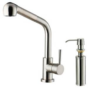 kitchen faucet with sprayer and soap dispenser vigo single handle pull out sprayer kitchen faucet with