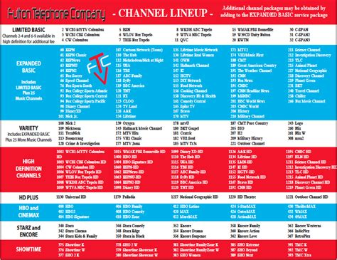 printable comcast digital channel guide printable comcast channel lineup filetype pdf free