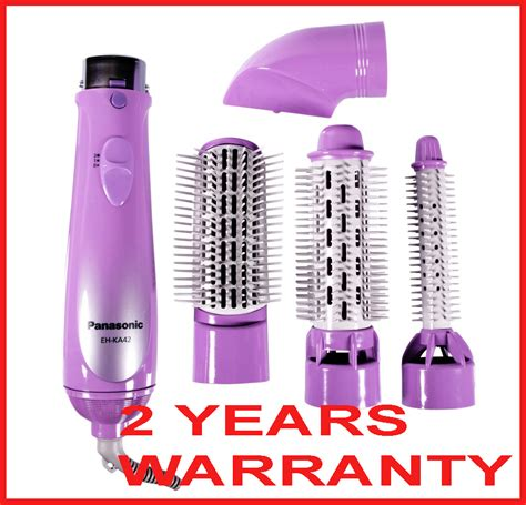 Panasonic Hair Dryer With Brush Attachment panasonic hair styler eh ka42 v dryer curler