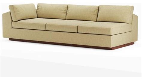96 inch sofa jackson 96 inch armless split sofa modern sofas by