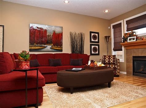 brown and red living room ideas red living rooms design ideas decorations photos