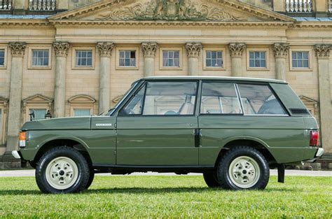first range rover ever made first ever production range rover to be sold at auction
