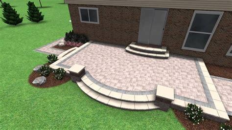 Paver Stone Patio Design Rochester Hill MI YouTube