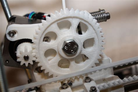 Gear Printer adventures with reprap prusa mendel 3d printer arvydas co uk