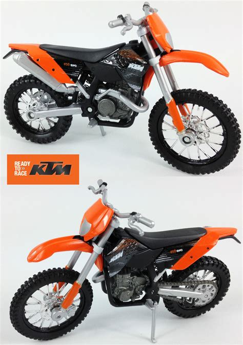 toy motocross ktm exc 450 1 18 diecast toy model motocross bike matt