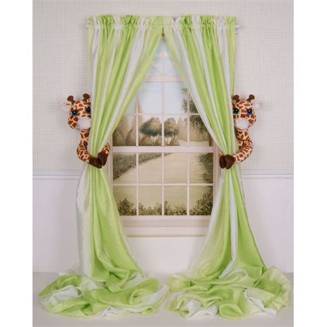Nursery Curtains Blackout Drapes Aqua Curtains Kids Green Nursery Curtains