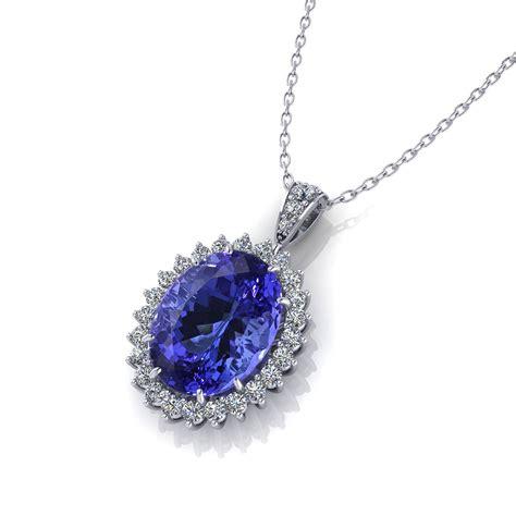 lade di design tanzanite di necklace jewelry designs