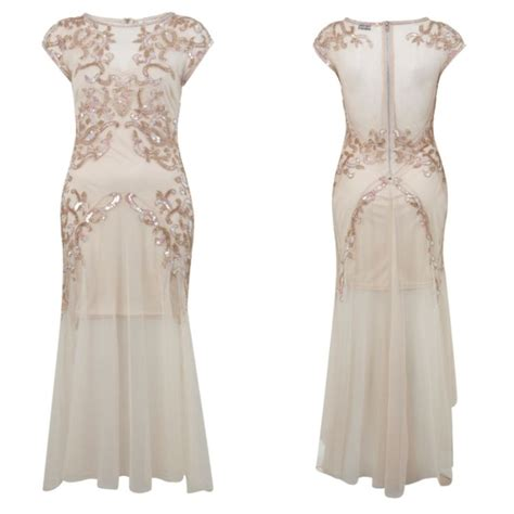 great gatsby themed gown can t wait to wear this miss selfridge 1920s style dress