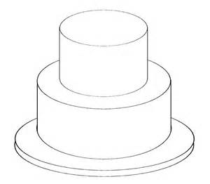 birthday cake templates two tier cake clipart clipartsgram