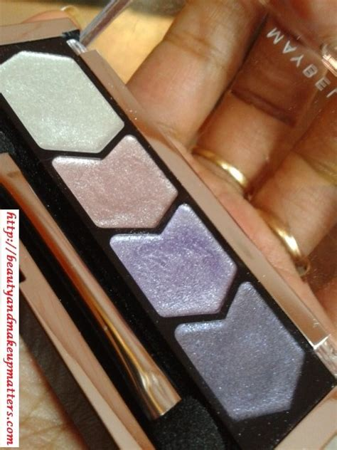 Eyeshadow Maybelline Glow maybelline glow eyeshadow lilac mauve review swatches eotd fashion