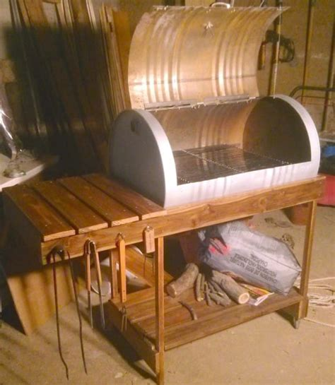 Backyard Grill Barrel Grill Diy Project Littlethings