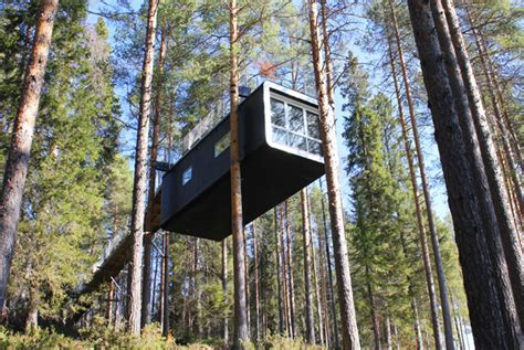 the treehotel in sweden for nature lovers 171 twistedsifter tree hotel harads sweden travelmodus