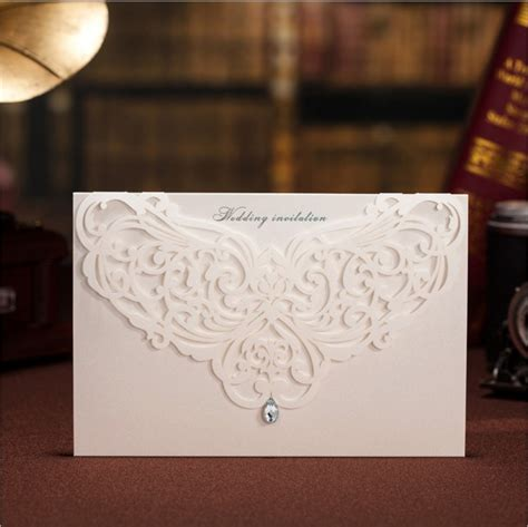 wedding invitations cards 2016 wedding decorations wishmade china laser cut luxurious wedding invitations designs white