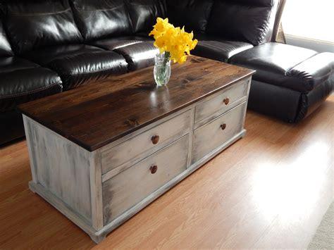 ana white pottery barn harper style coffee table diy