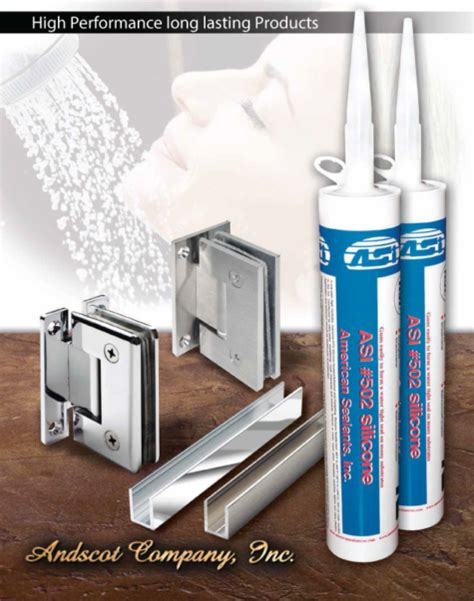 shower doors company frameless shower door channels andscot company