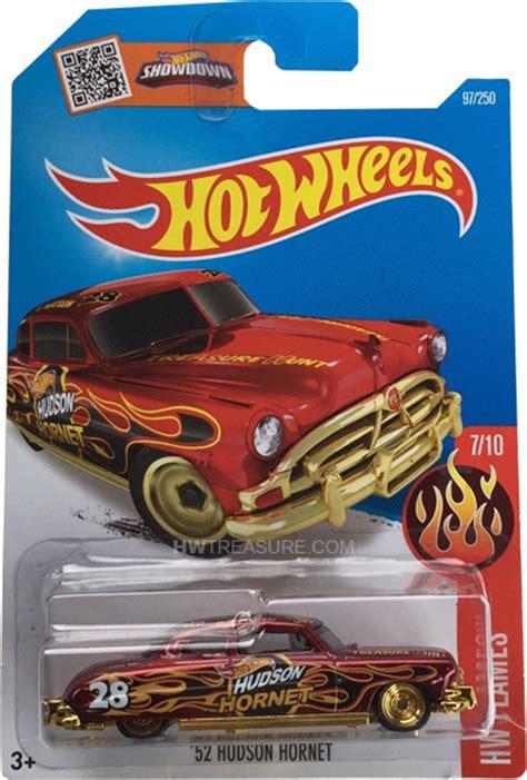 Hotwheels Circle Trucker Th Treasurehunt 52 hudson hornet wheels 2016 treasure hunt