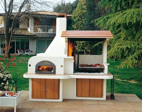 Kitchen Island With Oven by I Barbecue In Muratura Per Il Giardino