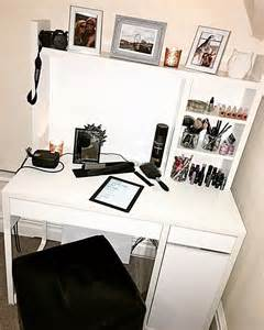 Workstation vanity desk with storage minimalist desk design ideas