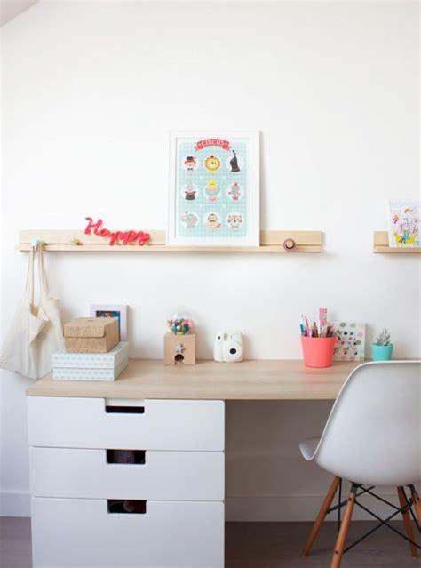 deco bureau enfant meuble rangement enfant ikea stuva